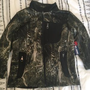 Reel Legends Boy's Camo (camouflage) Jacket